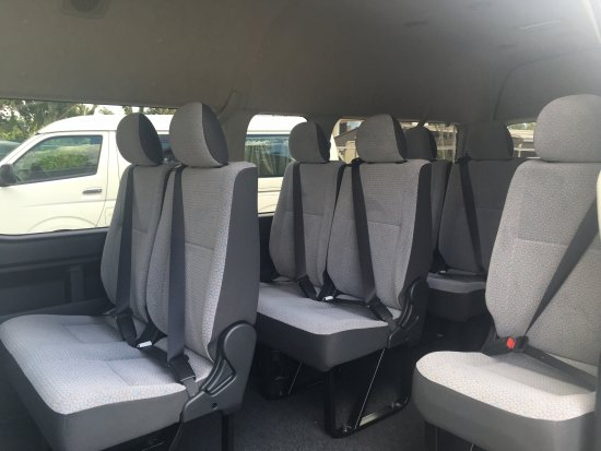 Interior With 3 Points Seat Belts For Safety Picture Of Pehicle Nadi Tripadvisor