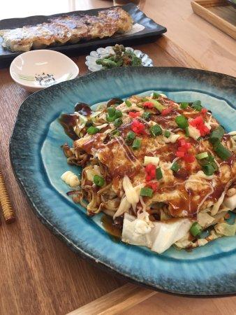 Arakawa, Japón: Okonomiyaki & Gyoza!