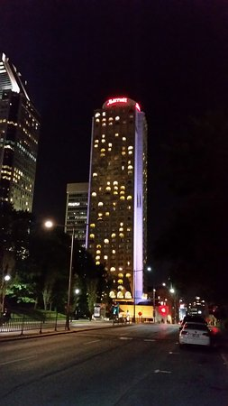 night view of exterior