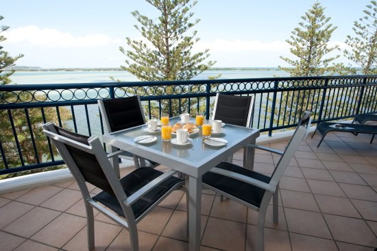 Golden Beach, Australien: Balcony