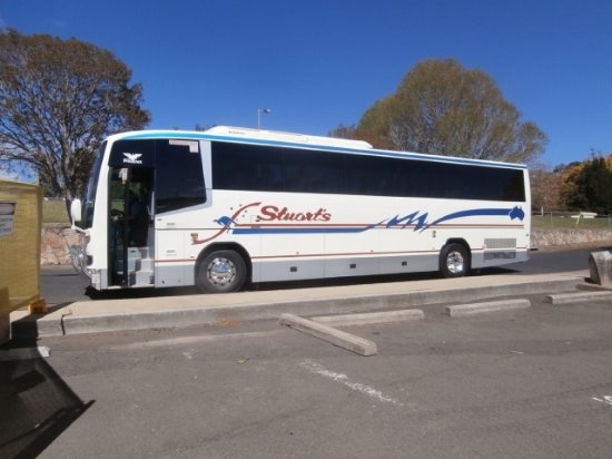 Nowra, Australia: One of the coaches that gave us such a good ride!