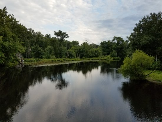 View of the Concord River.