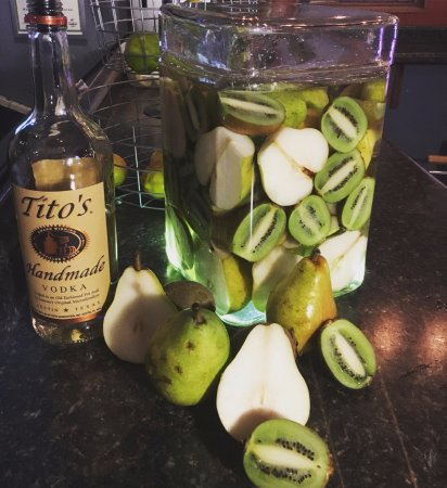 Pierre, SD: Tito's Infused with Kiwi and Pear