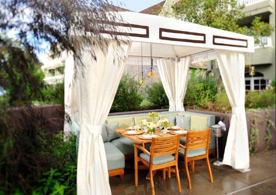 Del Mar, CA: LAuberge_Dining_Cabana