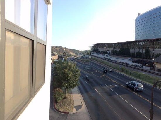 Hilton Promenade at Branson Landing: View from balcony facing South