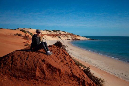 Denham, Australien: The tip of the Peron peninsula. Amazing colors!!