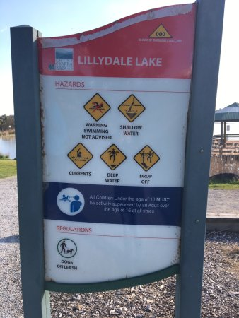 Lilydale, Australia: What you can and can't do!