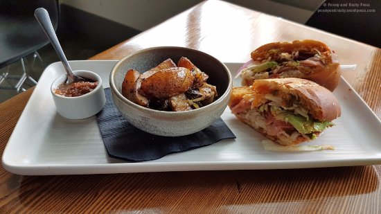 New Westminster, Canada: BC Ling Cod Torta with Papas Mexicanas