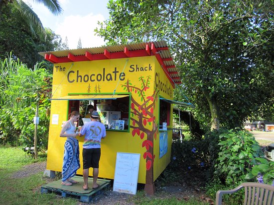 Kilauea, Hawái: Sign up for tour or buy some chocolate.