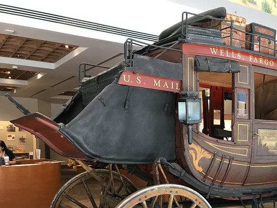 Wells Fargo History Museum: Yes, it's the real deal.