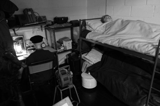 Kelvedon Hatch Secret Nuclear Bunker: bed time