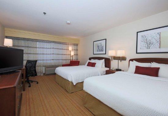 Morgan Hill, Καλιφόρνια: Queen/Queen Guest Room