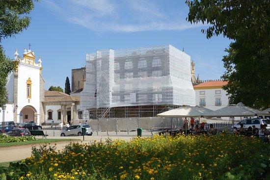 Templo Romano de Évora (Templo de Diana): Obras