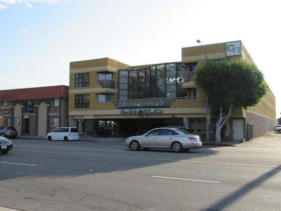 Gardena Terrace Inn: ウエスタンアベニュー側