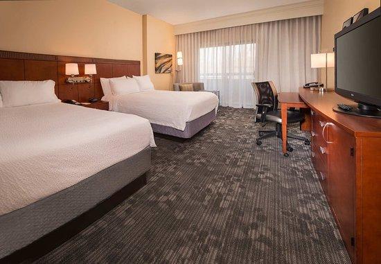Landover, Μέριλαντ: Queen/Queen Guest Room