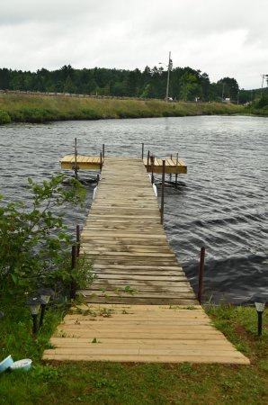Michigamme, MI: Fishing dock