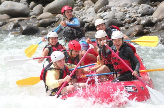 Sarapiqui White Water Rafting fra La...