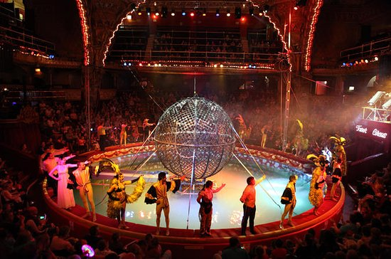 Het Blackpool Tower Circus Admission ...