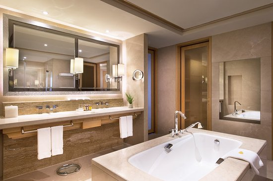 Chun'an County, Chine : premium bathroom in deluxe suite