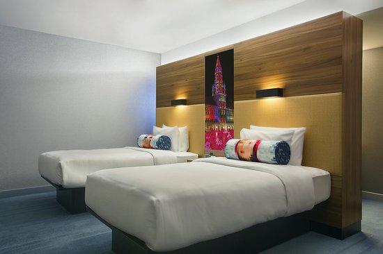 Etterbeek, Bélgica: Aloft Room Twin