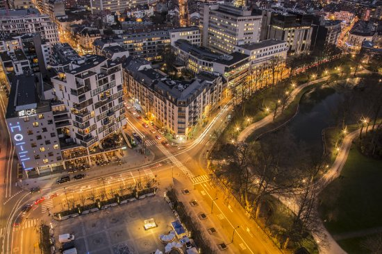 Etterbeek, Bélgica: Aerial view