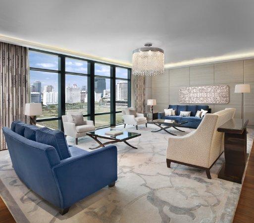 The St. Regis Bangkok: Royal Suite Living Room