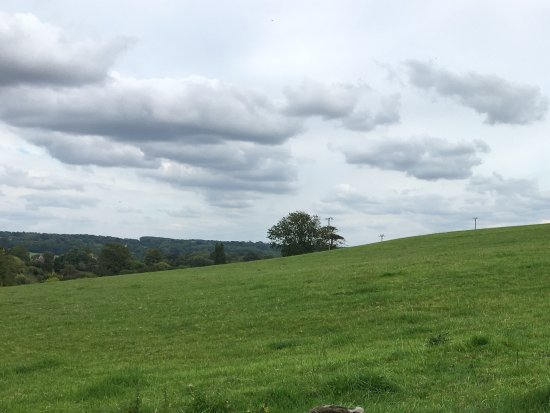 Oddington, UK: View from our patio