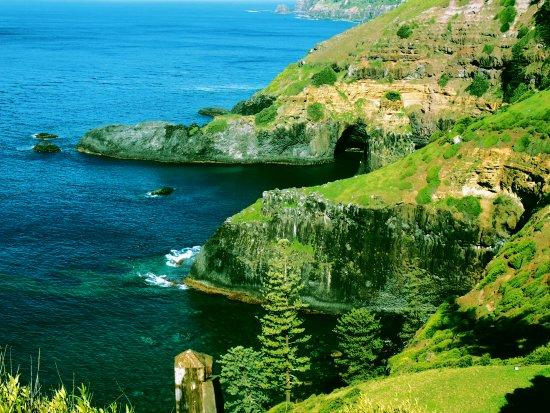 Isla Norfolk, Australia: sea cape