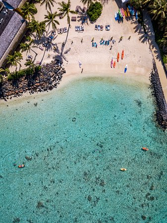 Sanctuary Rarotonga-on the beach: Aerial View