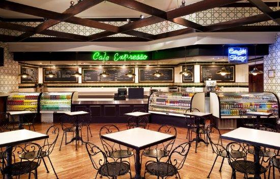 Sheraton Greensboro at Four Seasons: Cafe Espresso