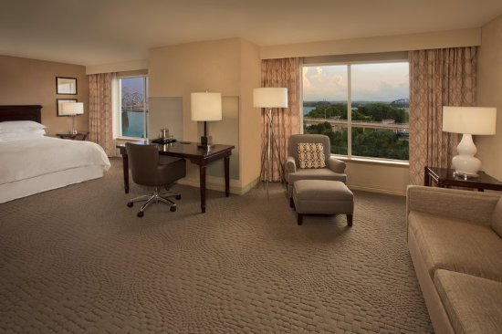 Jeffersonville, Ιντιάνα: Deluxe King Guestroom with View