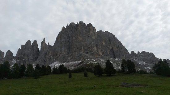 Tiers, إيطاليا: von der Haniger Schweige Vajolet Türme und Laurinswand