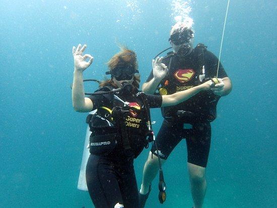 Super Divers: moment de bonheur