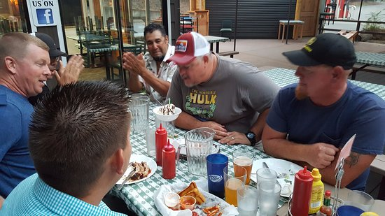 Merlin, Oregon: Birthday Boy after dinner
