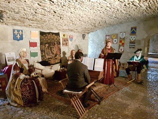 Thorens-Glieres, فرنسا: musique de la Renaissance