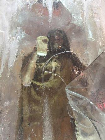 Balzac, Canada: A frozen man...