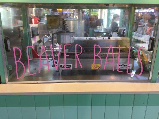 Balzac, Canada: Beaver Balls!
