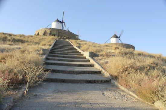 Complejo Retiro de la Mancha: Rampa a molinos