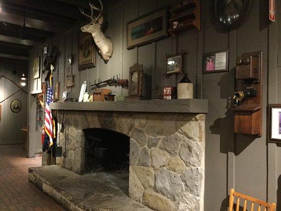Battle Creek, MI: Fireplace without a fire...