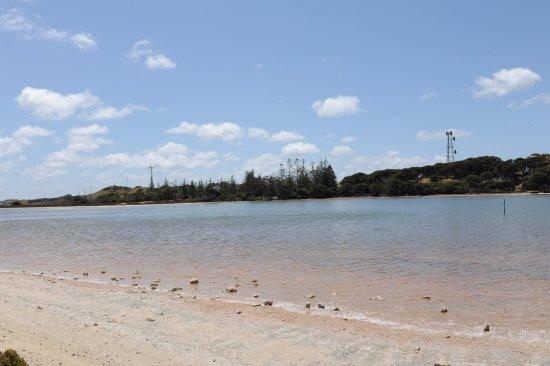 Rottnest Island, Australien: Salty shoreline