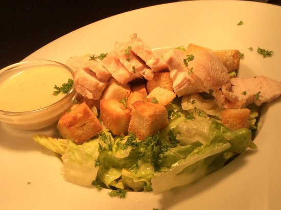 Boroughbridge, UK: Chicken Caesar salad on our new menu with locally sourced ingredients