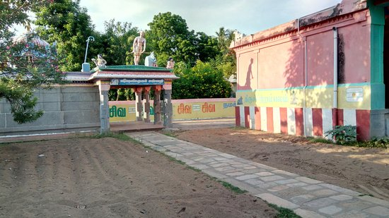 Nagapattinam, Indien: The temple campus
