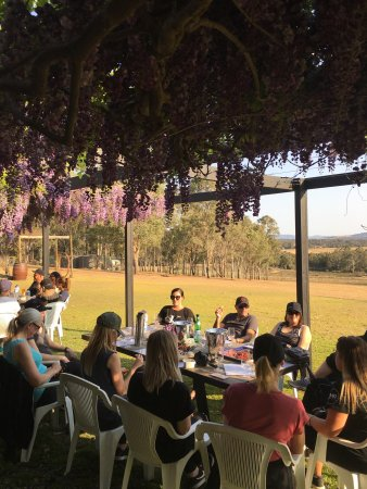 Pokolbin, Australia: Beautiful afternoon wine tasting