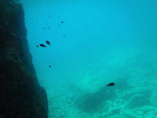 Limni Keri, Grecja: snorkelling