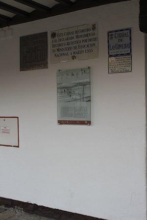 Almagro, España: Cartel entrada I
