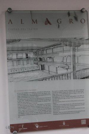 Almagro, Spain: Cartel entrada III