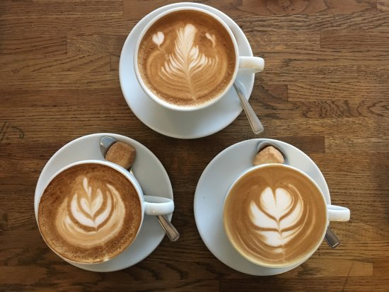 Surbiton, UK: Flat White Coffees