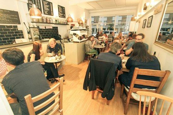 Surbiton, UK: Our Cafe