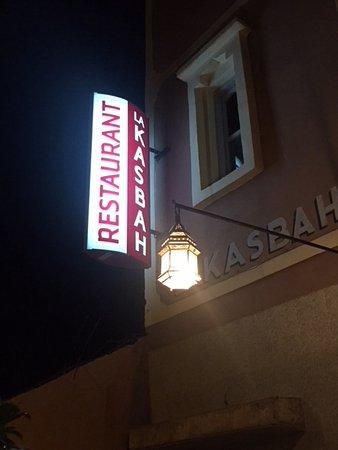 Restaurant La Kasbah: Insegna