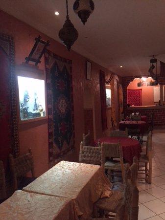 Restaurant La Kasbah: Interno